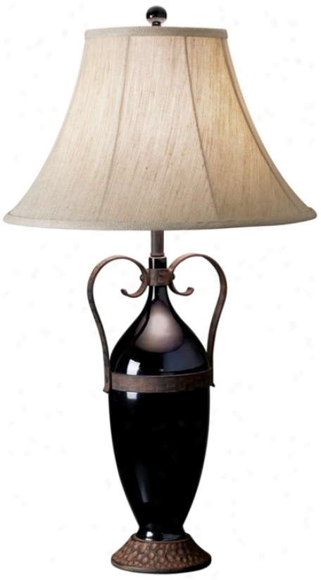 Black Canyon Table Lamp (m6913)