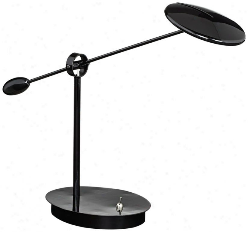 Black Disus Led Desk Lamp (u3752)