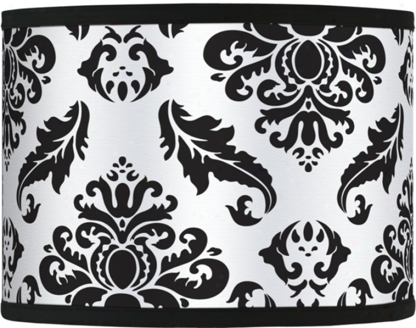 Black Filigree Gicler Shade 13.5x13.5x10 (spider) (37860-h1475)