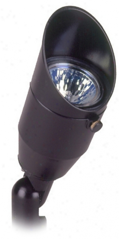 Black Finish 20 Watt Outdoor Landscape Spot Light (88234)