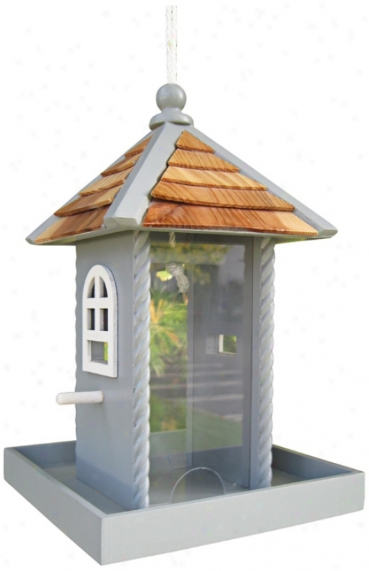 Blue Nestling Bird Feeder (t3200)