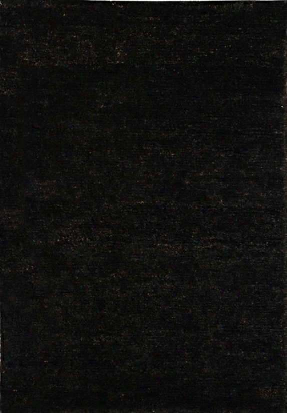 "Bohemian Black Eco-friendly Jute 8' 3""x11' Area Rug (g6827)"