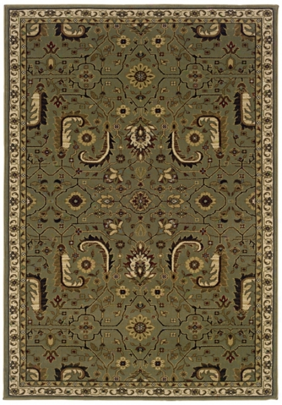 """Botanical Traditions Taupe 1' 10""""x3' 3"""" Arew Rug (j1785)"""