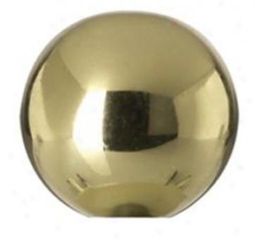 Brass Dance Lamp Shade Finial (23047)