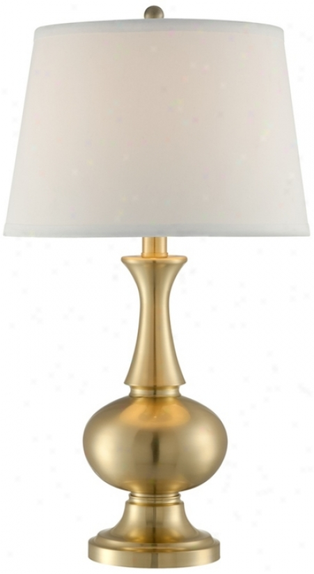 Brsss Finish Genie Bottle Table Lamp (t4414)
