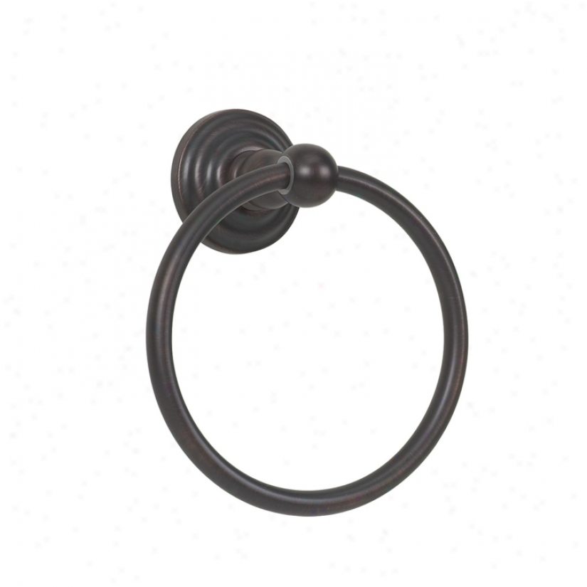 Brentwood Oil Rubbed Br0nze Towel Holder Ring (94194)