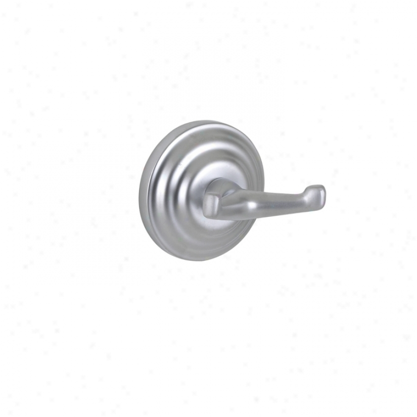 Brentwood Satin Chrome Bathroom Robe Hook (29300)