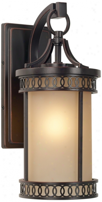"Bristol Park Collection 14 3/4"" High Outdoor Wall Light (p5704)"