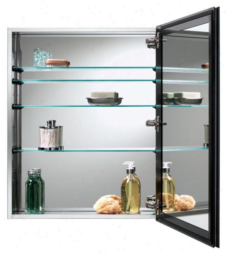 Broan Gallery Stainless Steel Bathroom Medicine Cabinet (r9730)