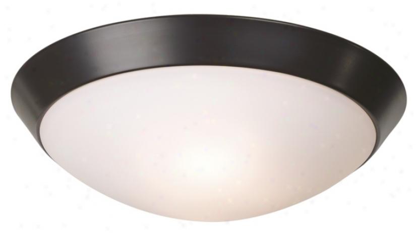 "Bronze 11"" Spacious Ceiling Light Fixture (12068)"