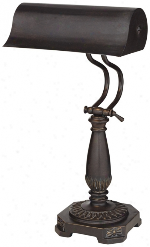 Bronze Finlsh Piano Desk Lamp (t7386)