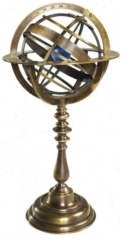 Bronze Historical Armillaru Dial (t1539)