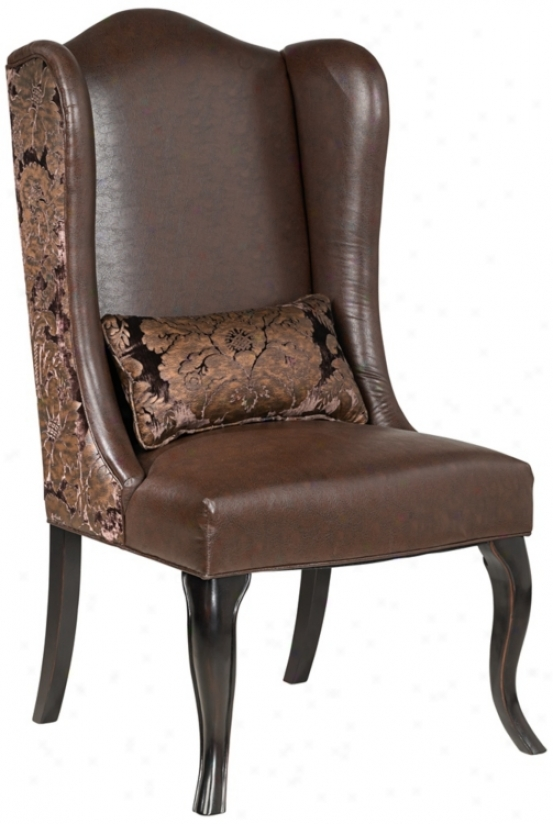 Brown Pullman Chair (t3329)