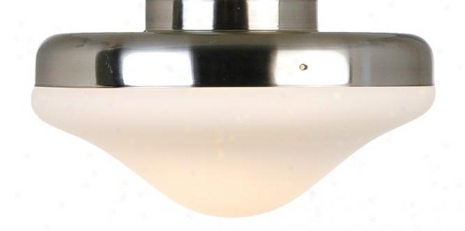 Brushed Steel Pull-chain Ceiling Fan Buoyant Kit (83051)
