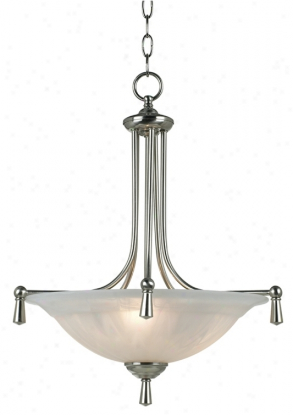 "Burlington Collection 17 1/2"" Wide Pennant Chandelier (44905)"