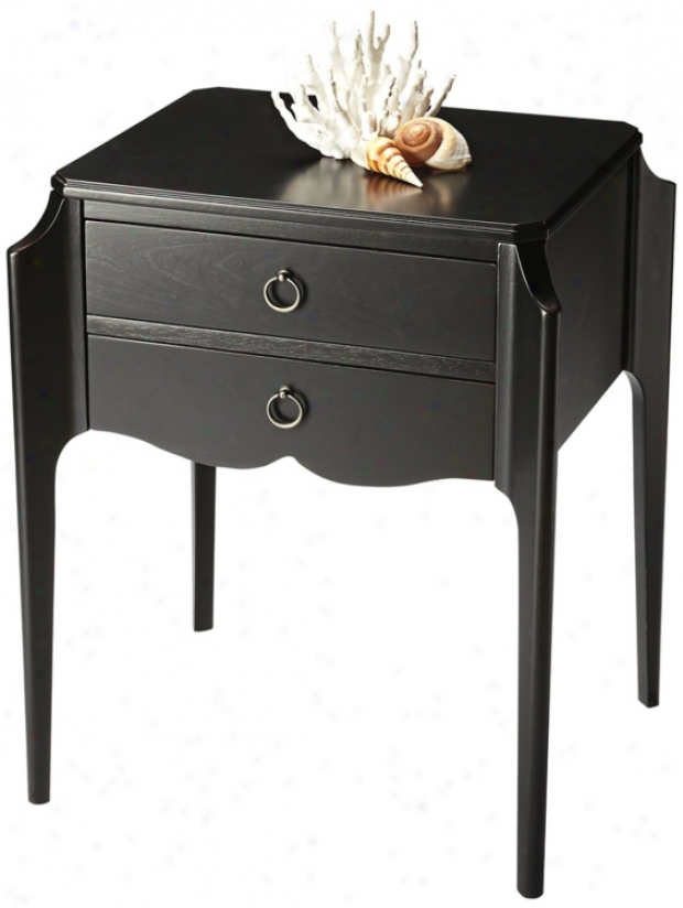 Butler Loft Dark Licorice Accent Table (u7837)