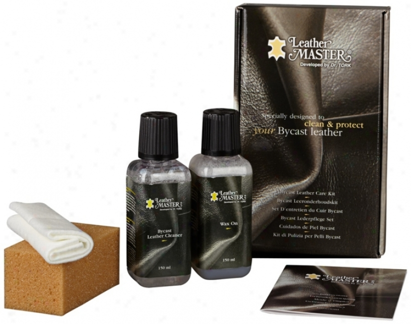 Bycast And Bonded Leather Cleaning And Care Kit (u1634)
