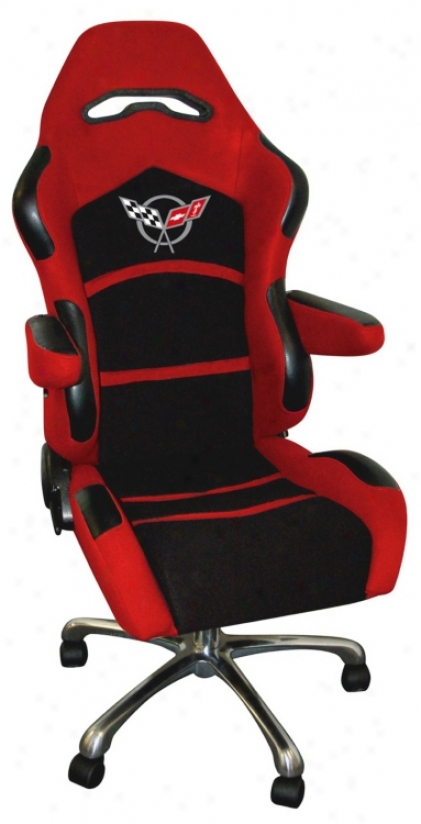 C5 Corvette Racing Place of business Chair (t5683)