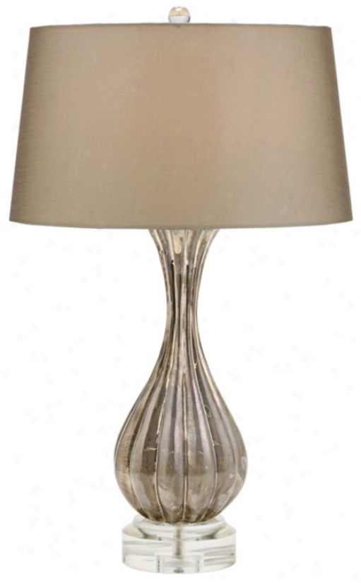 Cagney Shimmer Glass Table Lamp (f1714)
