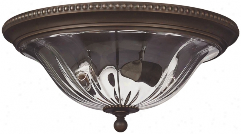 "Cambridge Collection Bronze 61 1/4"" Wide Cdiling Light (49384)"