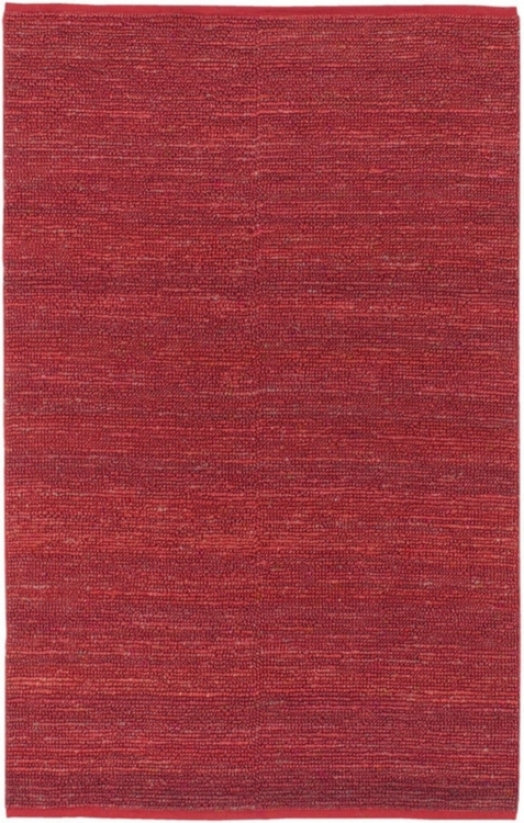 Candice Olson Continental Red 8'x8' Square Area Rug (n1494)