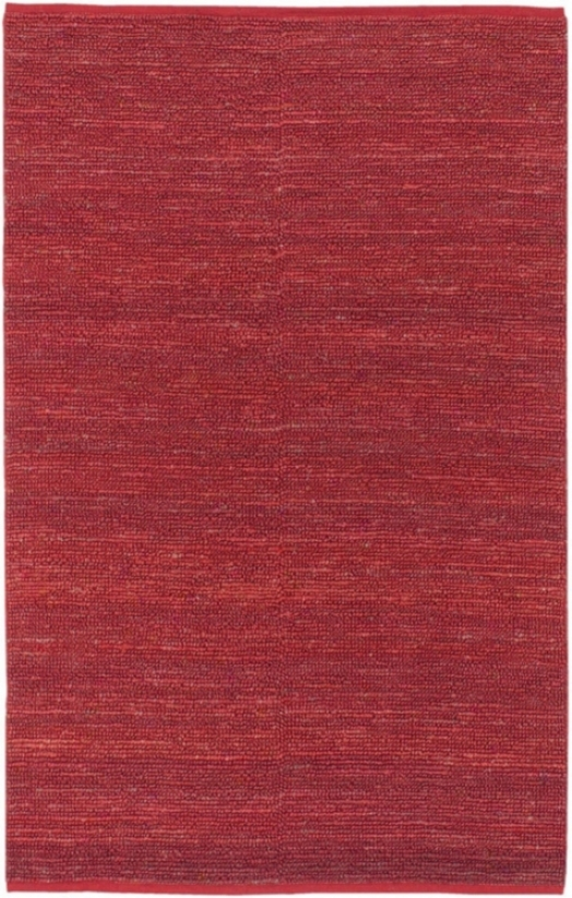 Candice Olson Continenta lRed Area Rug (n1491)