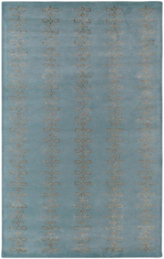 Cqndice Olson Modern Classic Blue 8'x11' Area Rug (m2017)