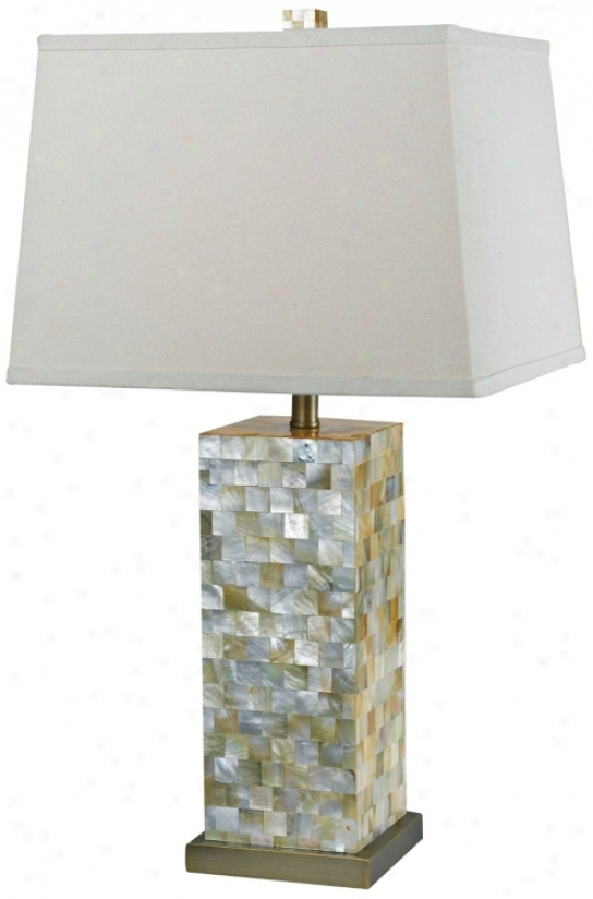 Candice Olson Sahara Natural Table Lamp (r5251)