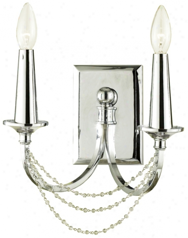 Candice Olson Shelby 2-light Wall Sconce (r5997)