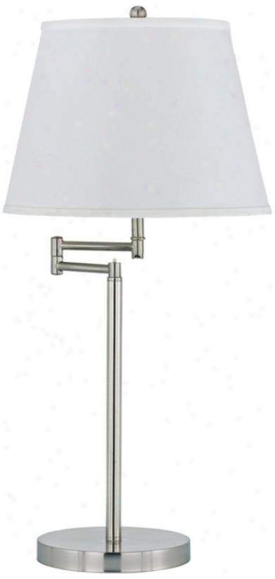 Candros Swing Arm Metal Table Lamp (p9612)