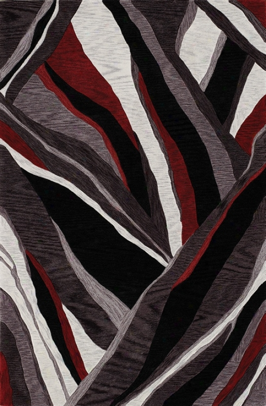 Canyon Black Area Rug (j4721)