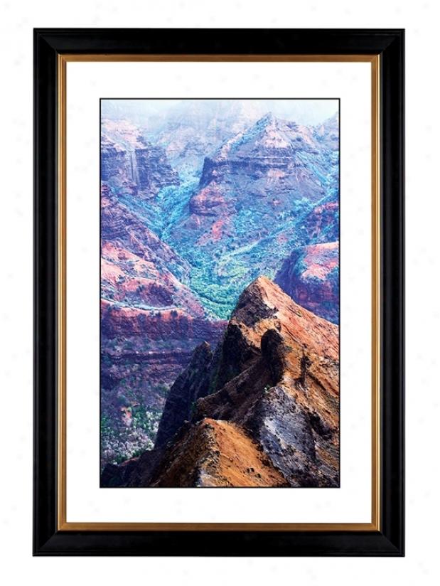 "Canyon Vista Giclee 41 3/8"" Wide Wall Art (53447-80384)"