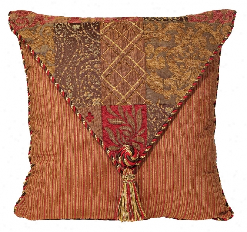 Caravan Collection Envelope Flap Throw Pillow (03066)
