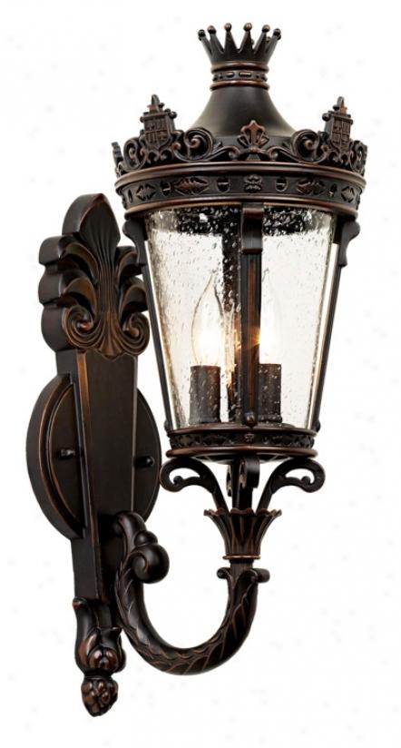 "Casa Aristocrat 20 1/2"" High Up-arm Outdoor Light (81074)"
