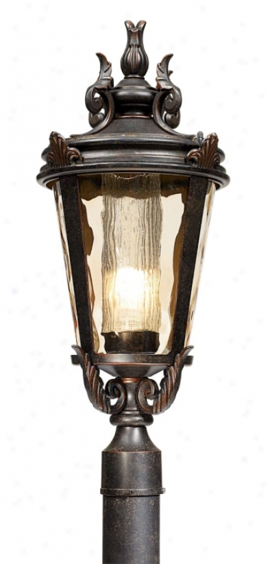 "Casa Marseille 25"" High Energy Efficient Outdoor Post Light (42902)"