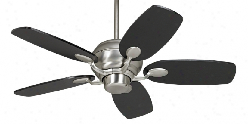 Casa Optima™ Brushed Carburet of iron Espresso Blades Ceiling Fan (86646-46467)