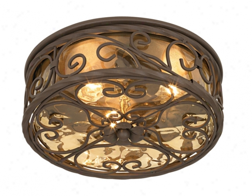 "Casa Seville™ 12"" Wide Outdoor Ceiling Light Fixture (51064)"
