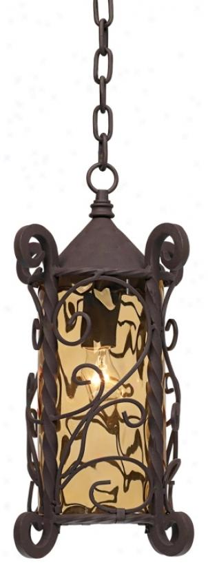 """Casa Seville™ 15"""" High Outdoor Hanging Light (68859)"""