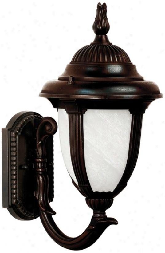"""Casa Sorrento Bronze 19 1/8"""" High Led Exterior Wall Light (45219-p3976)"""