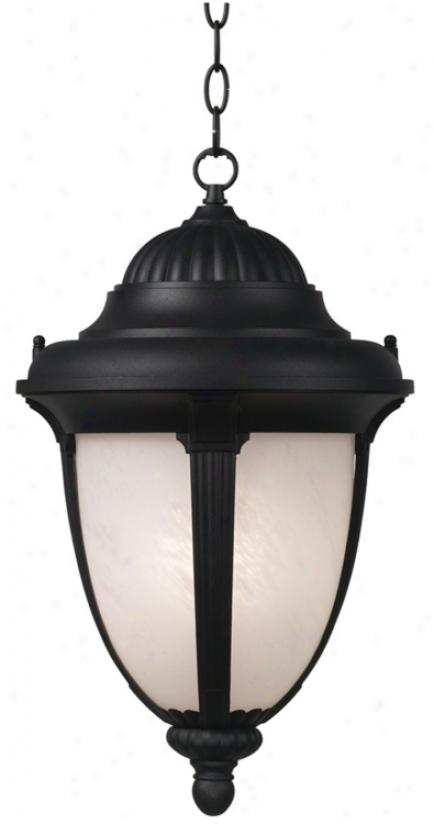"""Casa Sorrento™ 20 1/2"""" High Black Outdoor Light (90571)"""