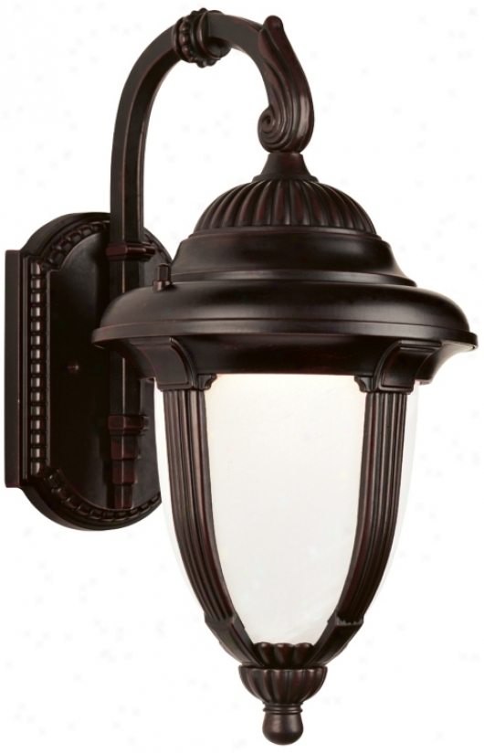 "Casa Sorrento™ 23"" High Brass Led Outdoor Wall Light (54699-p3976)"