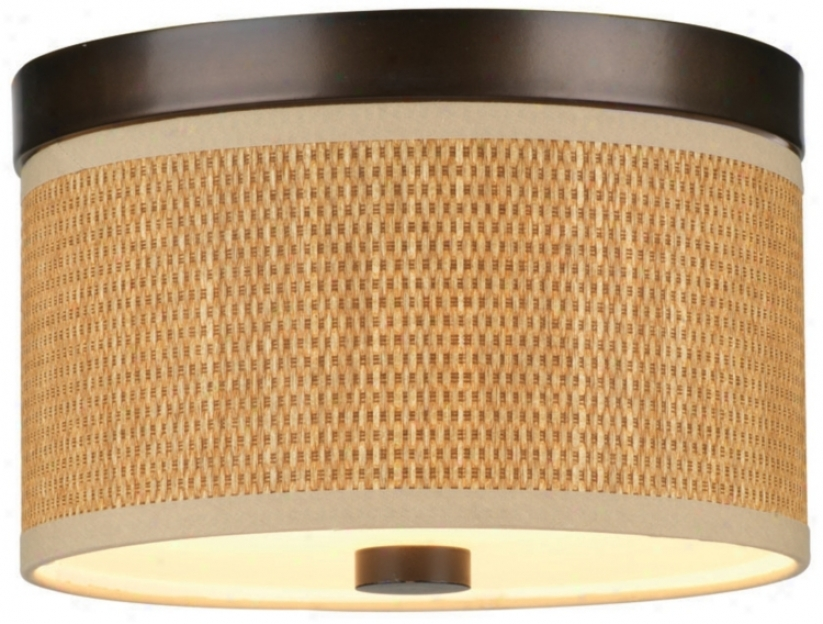"Cassandra Bronze Energy Efficient 10 1/4"" Wide Ceiling Light (j9318)"