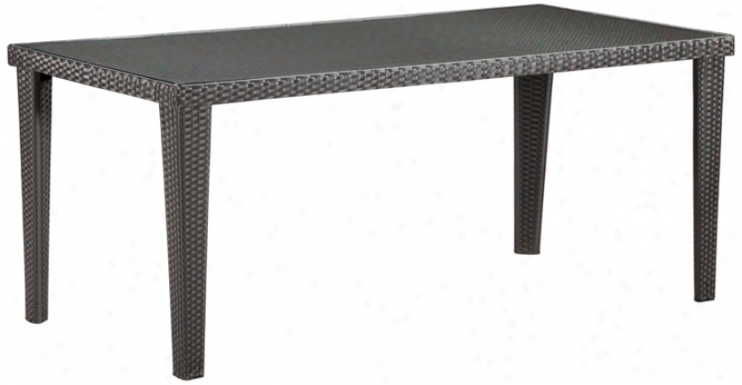 "Cavendish 70 1/2"" Wide Outdoor Rectangular Table (r8248)"