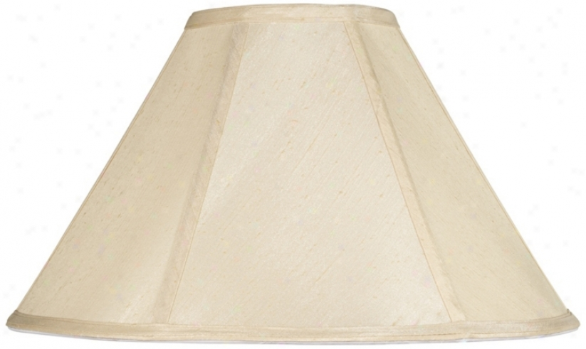 Champagne Empire Lamp Shade 6.5x19x12 (spider) (v9727)
