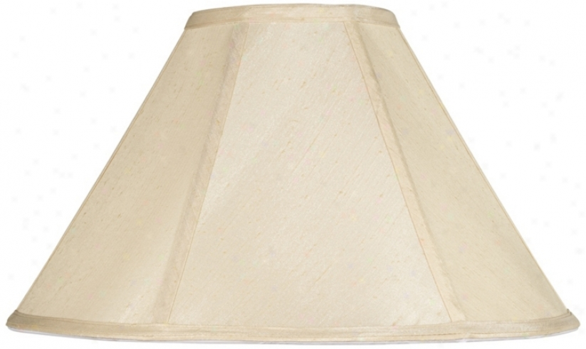 Champagne Empie Lamp Shade 6x17x11 (spider) (v9584)