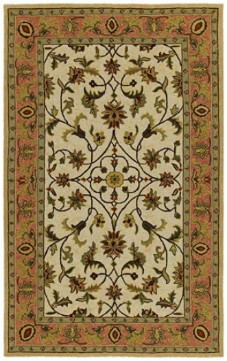 "Chatham County Ivory 7' 6""x9' Area Rug (m6596)"