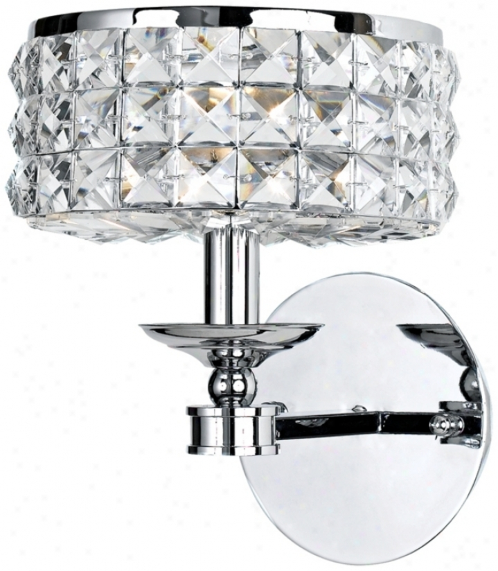 Chelsea Collection Crystal Wall Sconce (g6298)