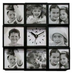"Cherished Memories 9 3/4"" Square Wall Clock (r6792)"