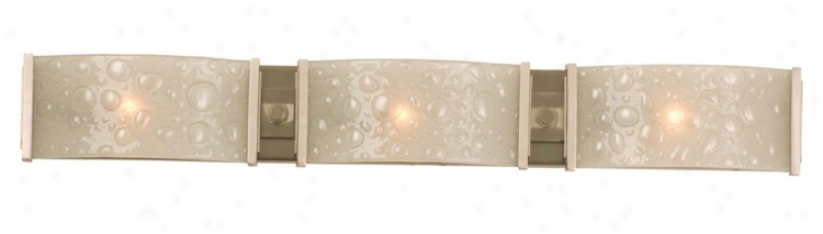 "Cirrus Collection 28 1/2"" Wide Bathroom Light Fixture (k0971)"