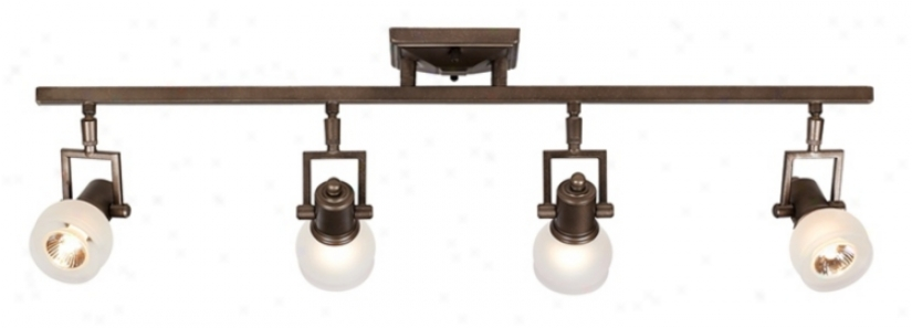 "Cpaaslc Pewter 32 3/8"" Wide 4-light Ceiling Light Fixture (18466)"